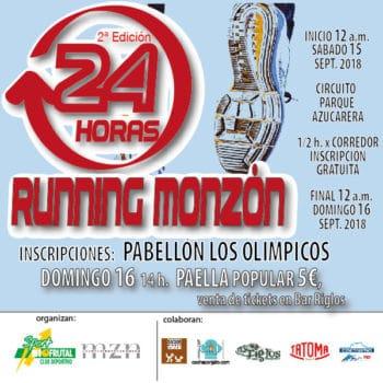 24 HORAS Ciudad de Monzón Club Deportivo Biofrutal Sport 2018