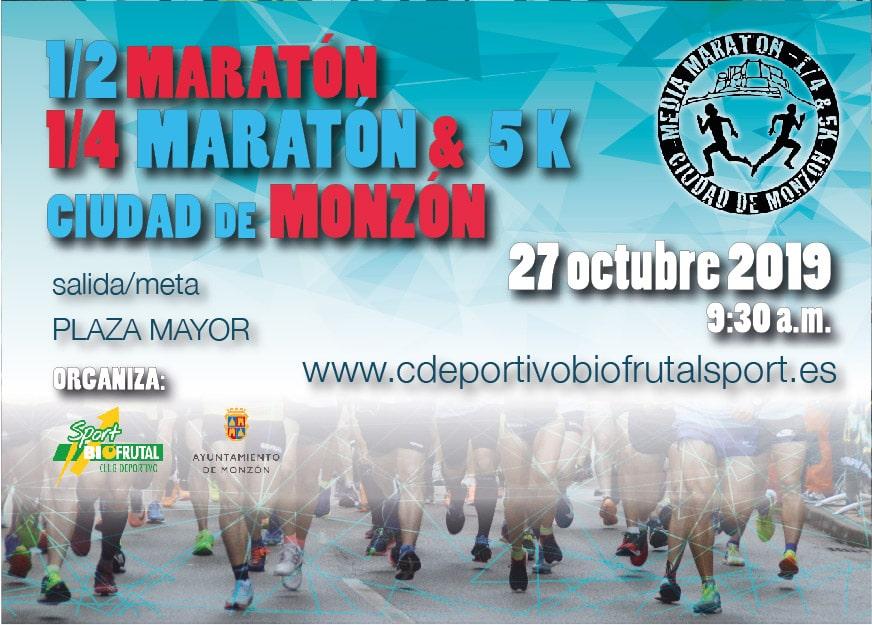 Media maratón Monzón 2019